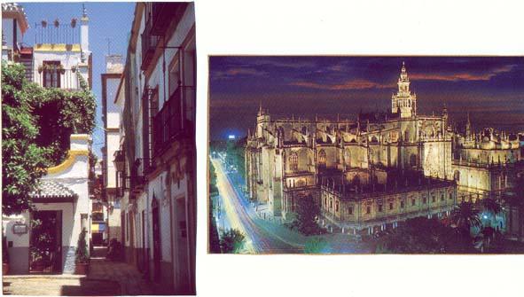 Barrio Sta. Cruz y La Catedral